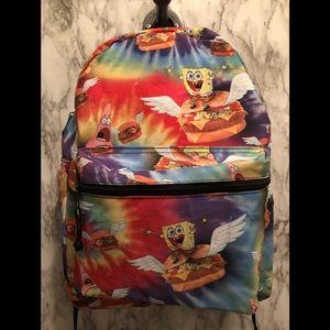 Spongebob Squarepants tie dye backpack